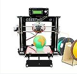 3D-Drucker, WER I3 Pro C 3D Drucker Dual Extruder 3D DIY Drucker/ Selbstmontage 3D-Drucker DIY-Kit Set/ optimiert Bauplattform / dual Extruder W / 2 Spulen / arbeitet mit 5 Arten von Filament: ABS, PLA, Holz-Polymer, Nylon und flexible PLA