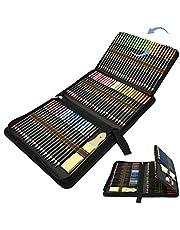 Kleurpotlodenset, 96-delige set met aquarelstift, grafietstift, houtskoolstift om te schrijven, schetsen en tekenen, ideale set voor kunstenaars, beginners, volwassenen en kinderen