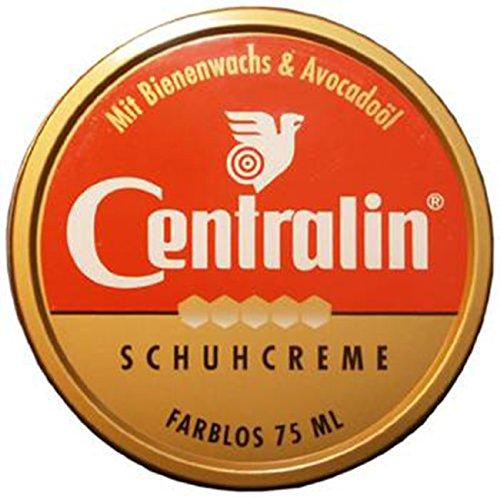 Centralin Schuhcreme farblos 75 ml - Im Set mit 5 Stück