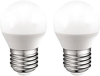 A2BC LED Lighting Bombilla LED 3000 K E27, 6 W, Blanco Cálido 3000K, 2 Unidad (Paquete de 1), 2