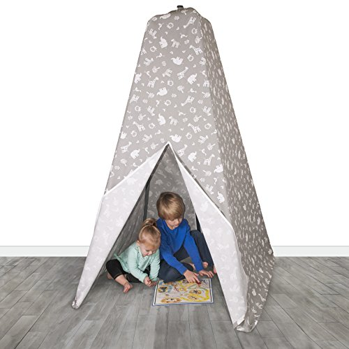 Jolly Jumper Teepee Tent Grey Jungle