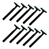 10 Pcs Maquinillas de Afeitar Disponibles de Hombres Duradero de Acero
