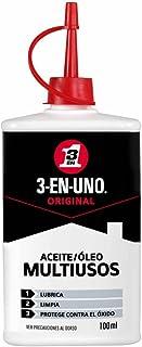 3 EN UNO 34059 - Gotero lubricante, para limpieza y protección (100 ml), Transparente