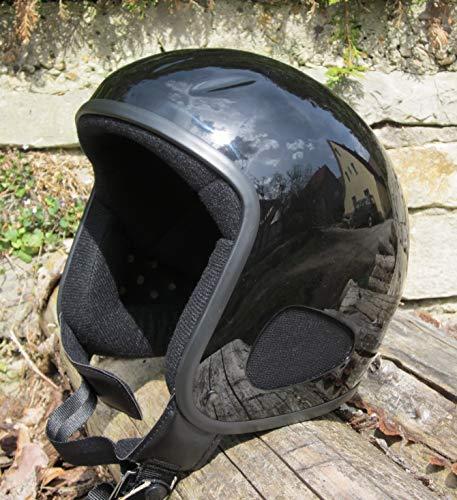 Skorpion TITAN-Kulthelm schwarz/glänzend Biker, Chopper, Ski, Harley, Jethelm in schwarz/glanz, Gr.: XL