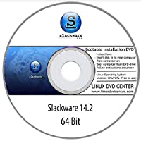 Slackware Linux 14.2 (64Bit) - Bootable Linux Installation DVD