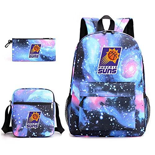 AGLT Bolsas de baloncesto para escuelas de niños y niñas de la escuela primaria, mochila para estudiantes, resistente al agua, peso ligero, Q8
