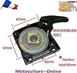 Motoculture-Online Lanceur/démarreur pour débroussailleuse, tarière ou Machine Multi-Fonctions 5 en 1 (Multifonctions)