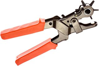SE 7924LP Heavy-Duty Revolving Leather Hole Punch Tool