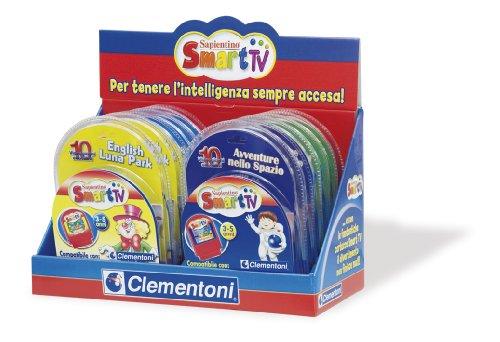 Clementoni 12338 Cartouche Smart TV, Luna Park Aventures dans l'espace