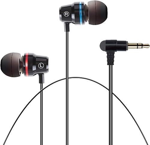NEWZEROL 1 Paire Compatible pour écouteurs Oculus Quest 2/ Oculus Rift S,Isolation du Bruit[L/R monocanal][360 Degrés...