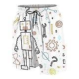SUHOM De Los Hombres Casual Pantalones...