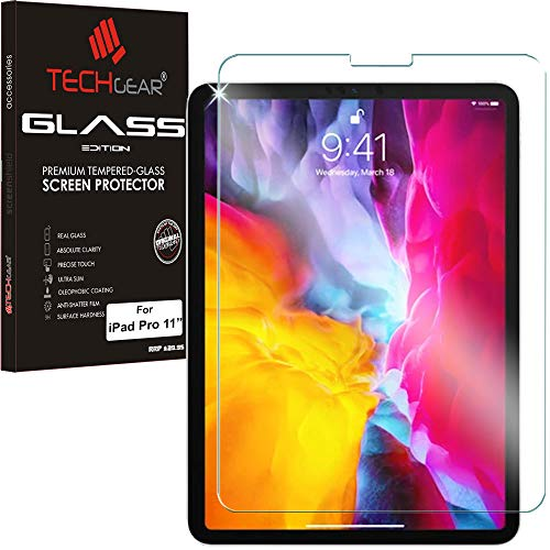 TECHGEAR Anti-Glare Screen Protector iPad Air 4 2020, iPad Pro 11' - MATTE Edition Tempered Glass Screen Protector Compatible with iPad Air 4 10.9 4th Generation, iPad Pro 11 2020/2018 2nd/1st Gen