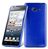 Cadorabo Case works with Huawei ASCEND Y530 in BLUE -
