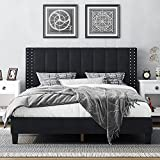 Best King Size Beds - HIFORT King Size Bed Frame with Adjustable Headboard Review