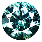 0.26カラット AAAグレード ラウンドカット 4 x 4 mm 100% 天然ビビッドブルーダイヤモンド ルースダイヤモンド