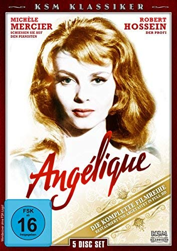 Angélique - 5 DVD - Die komplette Filmreihe
