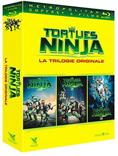 Les Tortues Ninja - La trilogie originale : Le Film + Le secret de la mutation + Les Tortues Ninja 3 : Nouvelle génération [Francia] [Blu-ray]