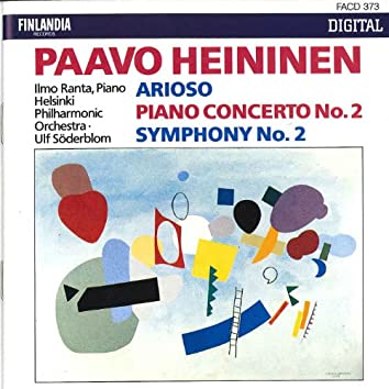 Paavo Heininen : Arioso, Piano Concerto No.2, Symphony No.2
