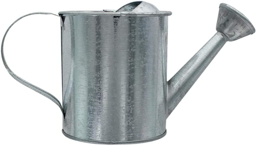 Darice Metal Watering Can Galvanized 3 5 X 7 5 Inches Home Improvement