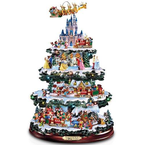 The Bradford Exchange Disney Tabletop Christmas Tree: The Wonderful World of Disney