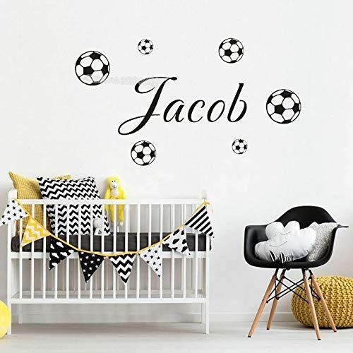 Vinilos decorativos de fútbol para niños