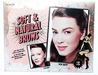 Benefit Cosmetics Soft & Natural Brow Kit Color 03 Medium - light to medium brown, redheads (neutral-warm)