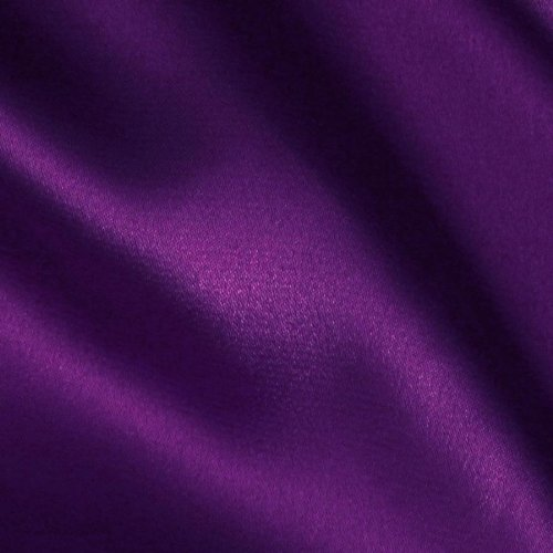 Ben Textiles Stretch Charmeuse Satin, Yard, Purple