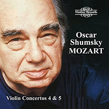 Mozart: Violin Concerto Nos. 4 & 5