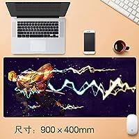 Vampsky アニメ悪魔スレイヤーKimetsuんYaiba大型マウスパッド、ノンスリップマウスパッドパーソナライズ妖精の翼マットラバーベースマウスパッドコンピュータのデスクマットのための光学レーザーマウスのラップトップコンピュータのPC防水大型マウスパッドをヒック (サイズ : Thickness: 4mm)