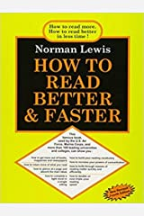 HOW TO READ BETTER AND FASTER Paperback