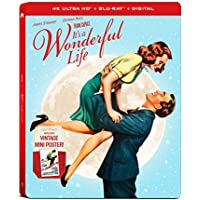 It's a Wonderful Life Steelbook (4K UHD + Blu-ray + Digital)