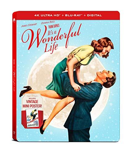 It's a Wonderful Life 4K UHD Steelbook (4K UHD + Blu-ray + Digital) $14.20 @ Amazon