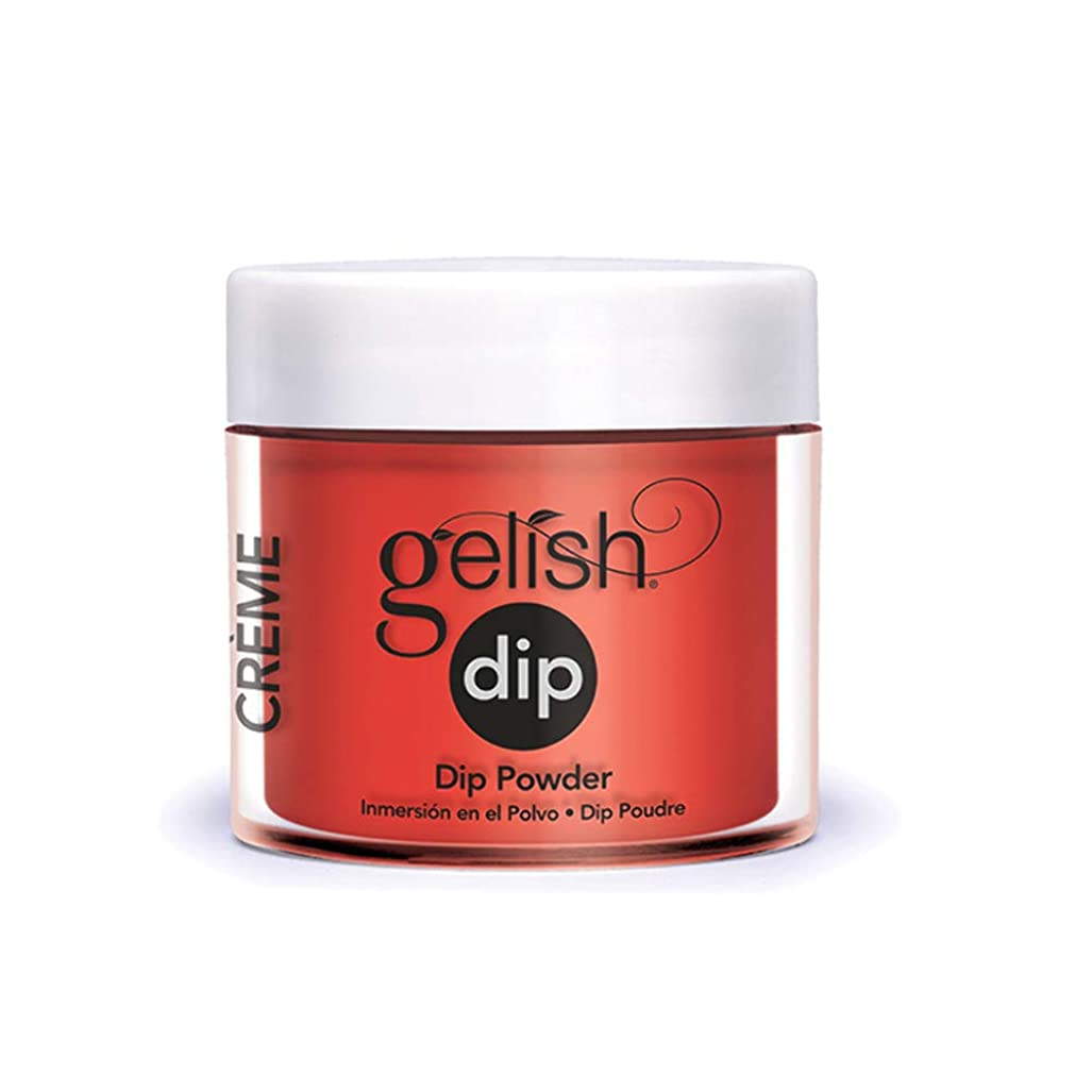 野な衣服大佐Harmony Gelish - Acrylic Dip Powder - Tiger Blossom - 23g / 0.8oz