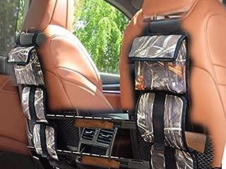 GNG Portable Camouflage Seat Back Gun Rack & Gun Bags, Sling Pair Storage Organizer for 2 Guns, Rifles, Shotguns in Cars, Trucks & SUV, Car Storage for Hunting Sports