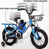 Velo Enfant Vélos pliants vélos garçon Enfants Fille 2-8 Ans bébé de Transport for Enfants Pédale Draisienne 12-16...