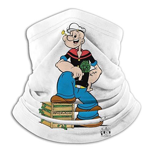 Yoohome Animated sitcoms 19331938 Popeye Sailor educación Wimpy comics Headwear Bandana cuello calentador de cartel colección Multifuncional Reino Unido Pascua hombres, mujeres, adultos, unisex