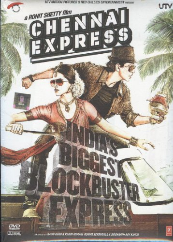 storeindya Chennai Express - El mayor éxito de taquilla de la India - DVD (película hindi / película de Bollywood / cine indio) Acción de gracias de Navidad Papá Noel regalo gratis