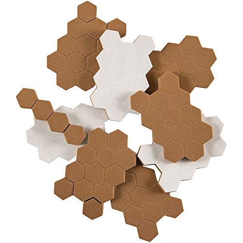 SoftTouch Self-Stick Dampening Foam Bumpers Protect Surfaces from the Damage and Noise of Everyday Movement Tan, 100 Pieces