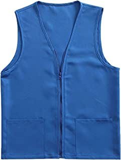 blue volunteer vest