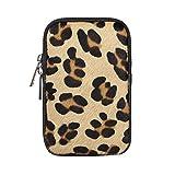 OBC Made in Italy Damen Leder Smartphone Tasche Umhängetasche Schultertasche Handytasche Minibag...