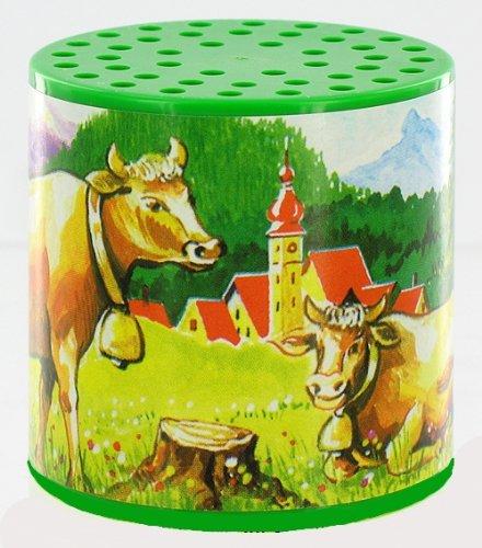 Lutèce Créations Boîte à meuh ou boîte à Vache Traditionnelle pour Entendre Le meuglement d'une Vache