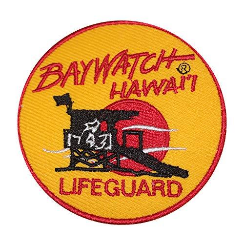 Baywatch Superhelden-Film-Aufnäher zum Aufbügeln oder Aufnähen, bestickt, für Kleidung, Hemden, Jeans etc.