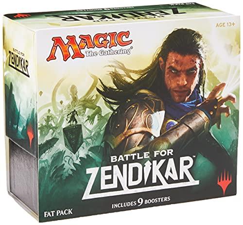 Bundle Magic: The Gathering - Battle for Zendikar - Fat Pack Original Wizard of the Coast
