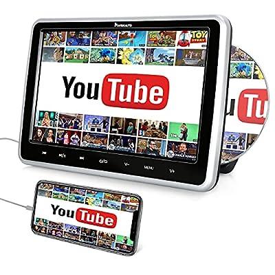 Función de HDMI: DVD coche con la función de entrada HDMI, puede sincronizar videos de hasta 1080p desde su teléfono móvil, computadora, cámara, Raspberry Pi, PS4 / Xbox / Switch o Firestick, etc. (Es compatible con el protocolo HDMI en la versión 1....