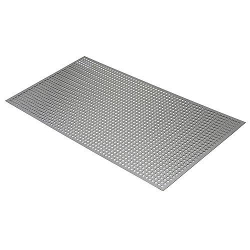 Ess Profiles 1107819 Chapa, Gris, 5 mm, 100 x 50 cm