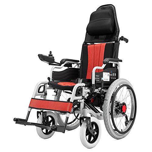 Wheel-hy Silla de Ruedas eléctrica de Aluminio Plegable 🔥