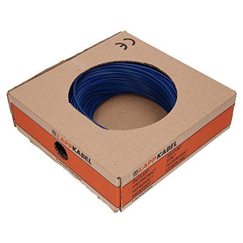 Lapp Kabel Litze H05V-K 0,75mm² dunkelblau 100M 4510142
