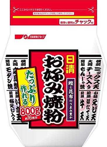 日清フーズ お好み焼粉 800g ×3袋