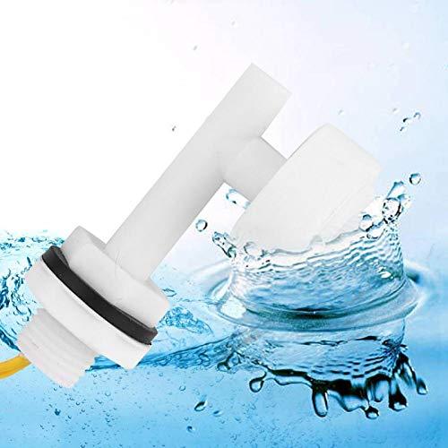wosume Sensor de Nivel de pecera, práctico Interruptor de Flotador de Nivel Duradero de plástico PP, Interruptor de Nivel de líquido para Barco DC220V para Alarma de sótano hidropónico de Barco