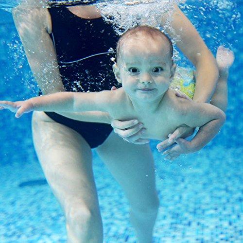 Damai Teamoy 水遊びパンツ 2点セット 0-3歳赤ちゃん用 サイズ調整可能 飛行機+可愛い笑顔